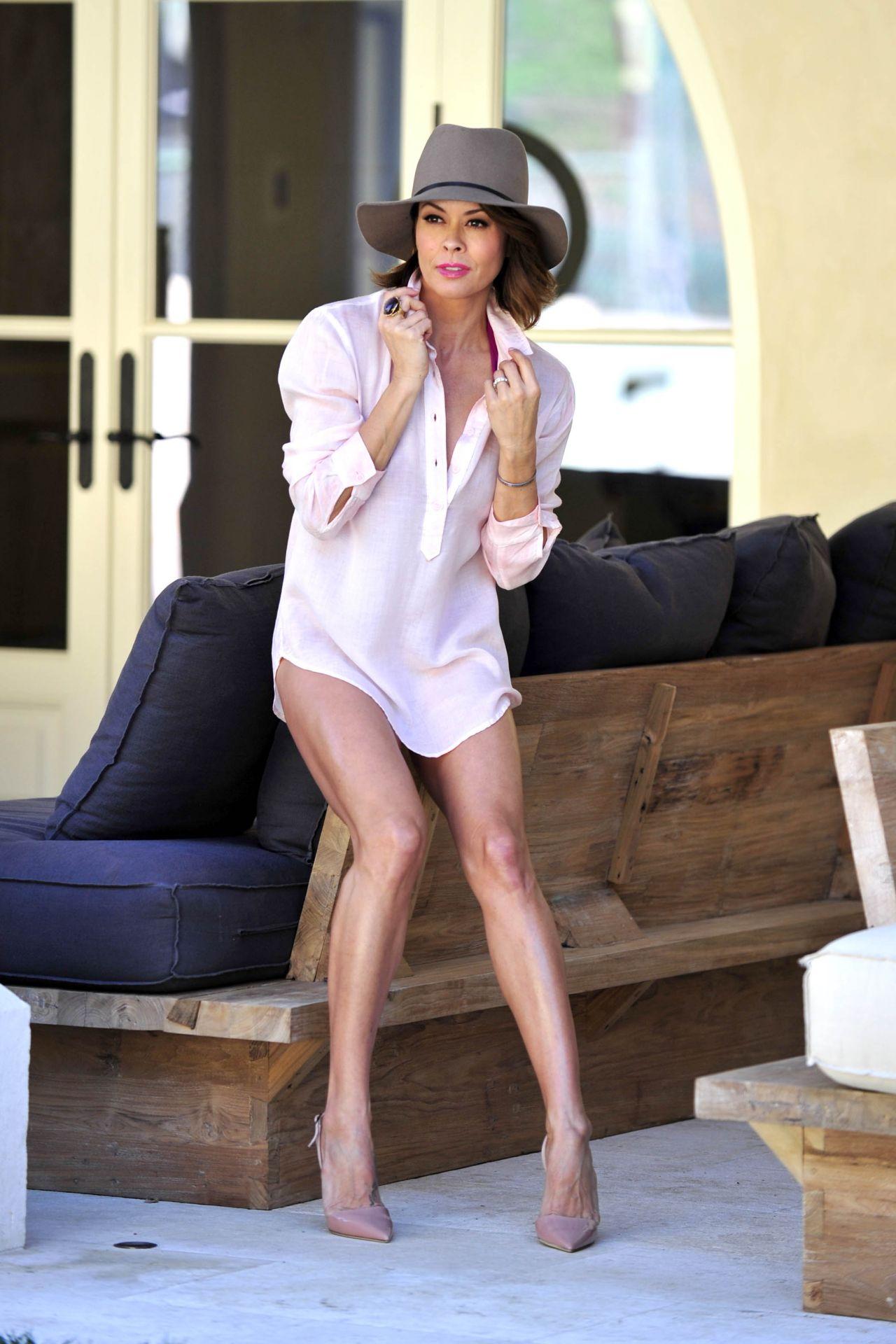 Blogger Brooke burke photo shoot