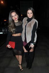 Brooke Vincent & Georgia May Foote - Attending Sakura Manchester, Feb. 2015
