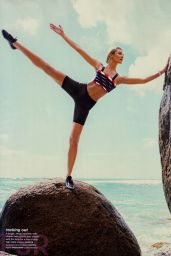 Candice Swanepoel – Self Magazine March 2015 Issue