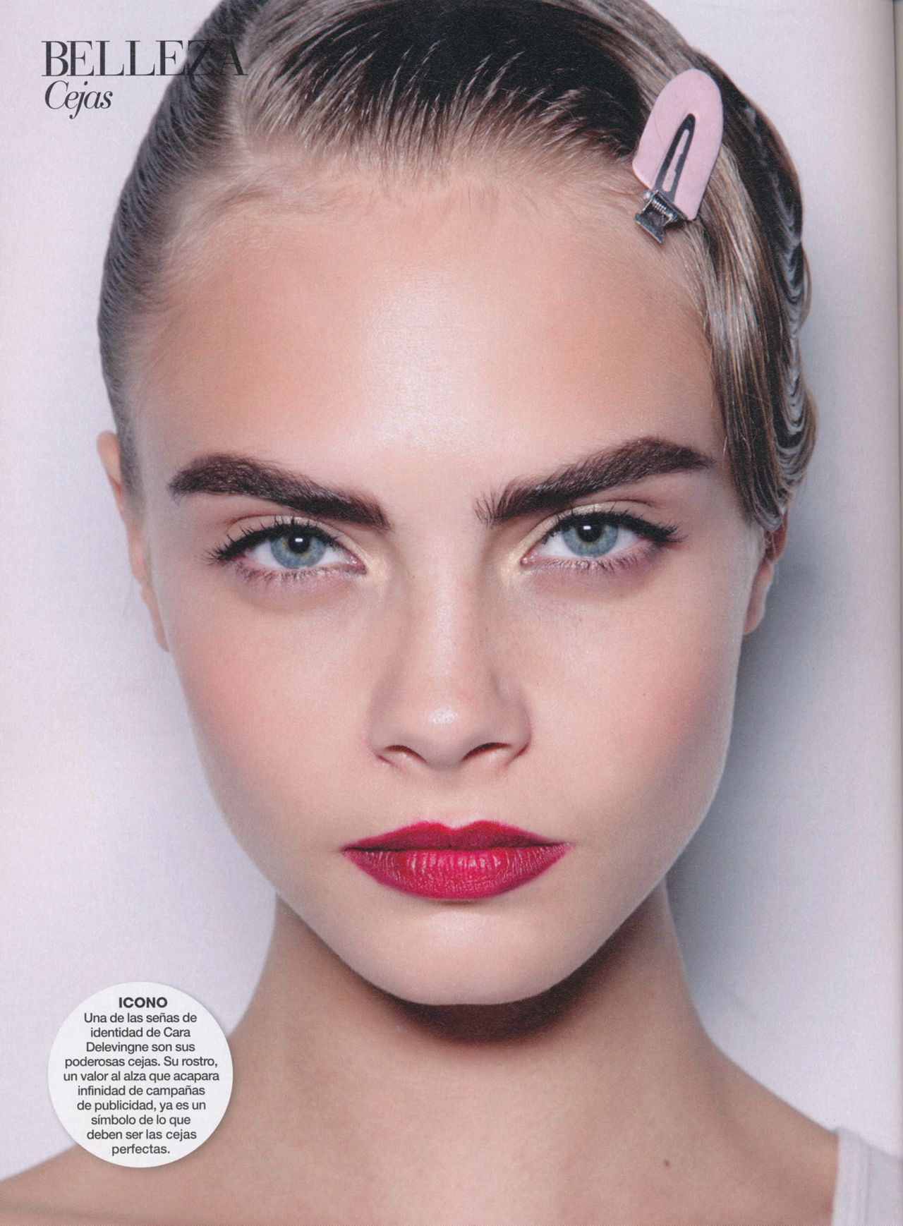 Cara Delevingne - Marie Claire Magazine (Spain) January 2015 Issue