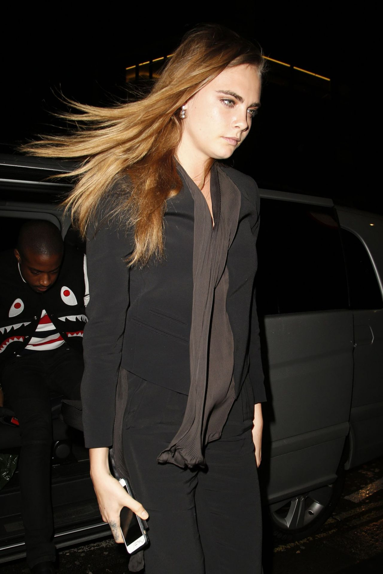 Cara Delevingne Style - Headed to Mr. Chow