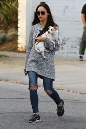 Cara Santana - Heads to a Pet Store in Los Angeles, February 2015