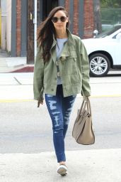 Cara Santana in Ripped Jeans - Out in Los Angeles, Feb. 2015