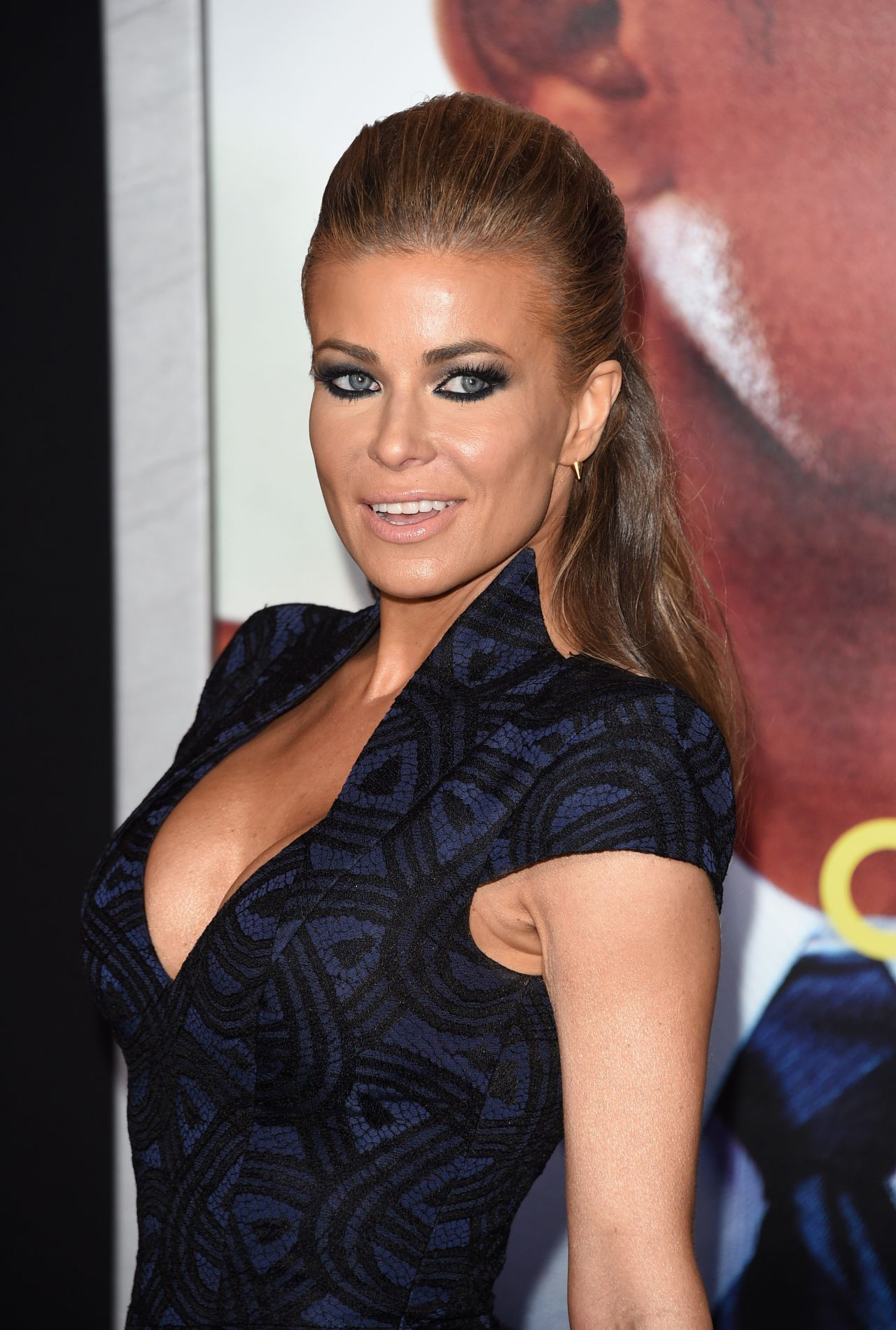 Carmen Electra  Focus Film Premiere in Los Angeles - 2015 Summer Hairstyles