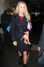 Caroline Wozniacki - Arriving to Appear on