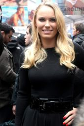 Caroline Wozniacki – Sports Illustrated Celebrates Swimsuit 2015 with 'Swim City' in New York