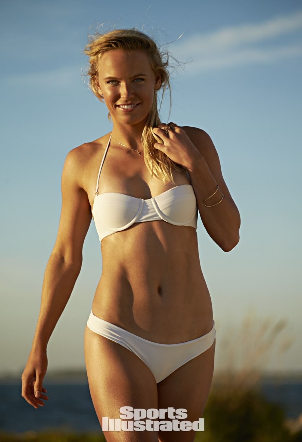 Caroline Wozniacki - Sports Illustrated Swimsuit 2015