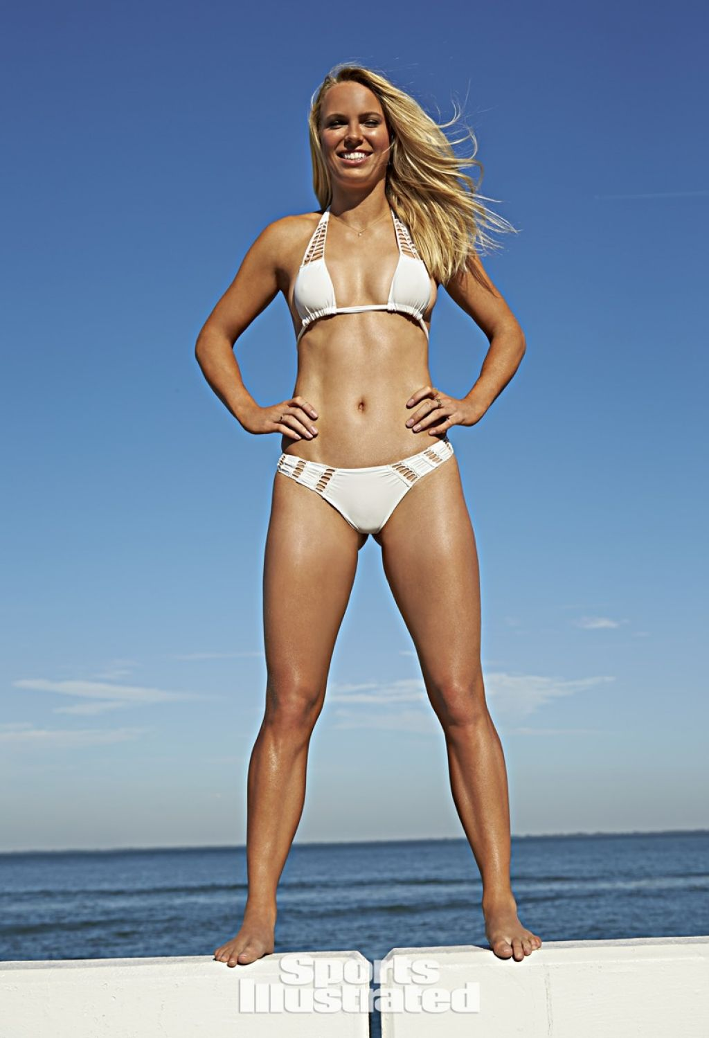 Caroline Wozniacki Sports Illustrated Swimsuit 2015