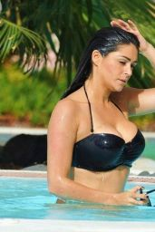 Casey Batchelor Bikini Pics - at Holiday in Tenerife, February 2015
