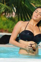 Casey Batchelor Bikini Pics - at Holiday in Tenerife, February 2015