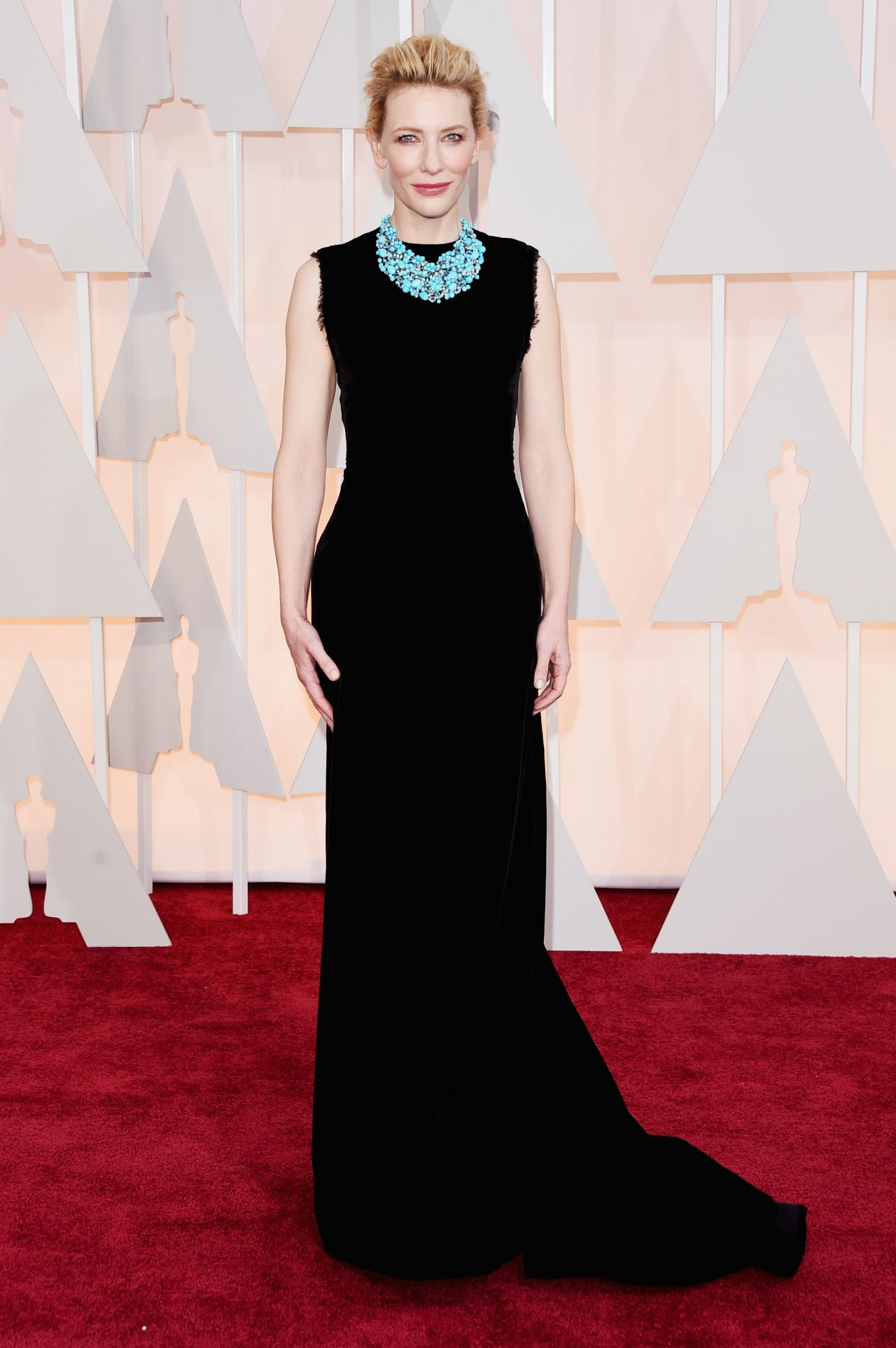 cate blanchett � 2015 oscars red carpet in hollywood