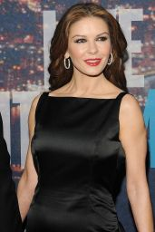 Catherine Zeta-Jones - SNL 40th Anniversary Celebration in New York City