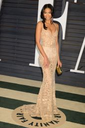 Chanel Iman - 2015 Vanity Fair Oscar Party in Hollywood