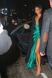 Chanel Iman - Arriving the 2015 Sports Illustrated Swimsuit Issue Celebration in New York City