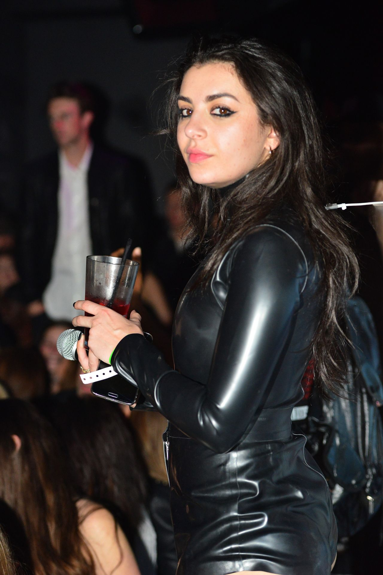 Charli XCX - Galore Magazine Celebrates The Music Issue in West Hollywood, Feb. 2015