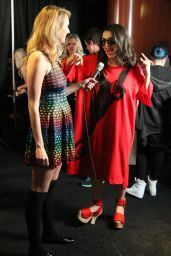 Charli XCX - Grammys Radio Row Day 2 at the Staples Center, Feb. 2015