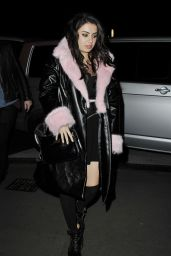 Charli XCX Night Out Style - Paris, February 2015