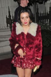 Charli XCX - Outside The Warner Music BRIT 2015 Party in London