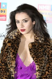 Charli XCX Style - 2015 NME Awards in London