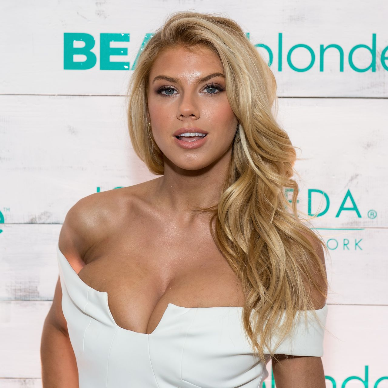 Charlotte McKinney - John Frieda Hair Care Beach Blonde Collection Party in New York City, Feb. 2015