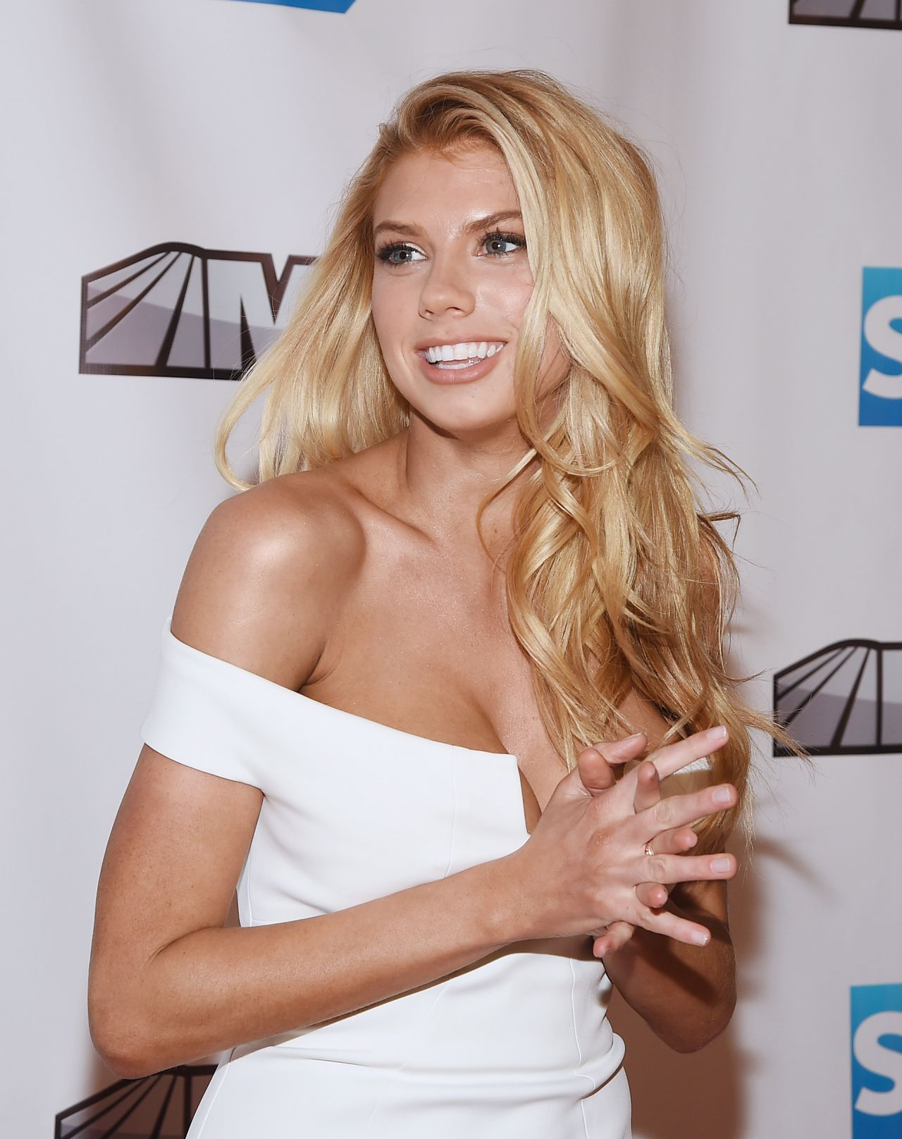 Charlotte McKinney - MSG Networks Original Programming Party in New York - February 2015