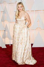 Chloe Moretz – 2015 Oscars Red Carpet in Hollywood