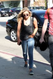 Chloe Moretz Street Style - Out in West Hollywood, February 2015