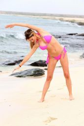 Chloe Simms Bikini Pics - on Holiday in Cape Verde, February 2015