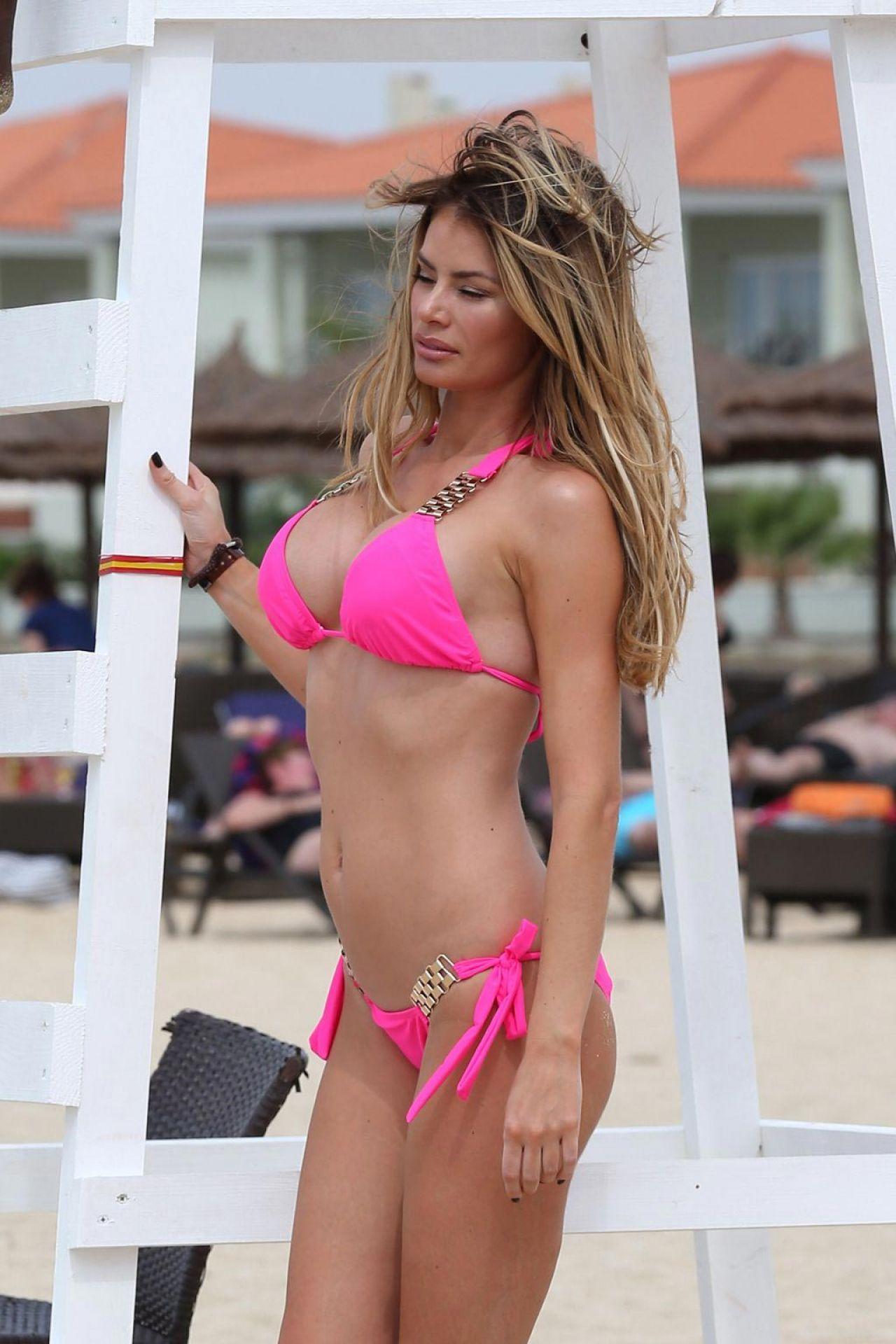 Chloe Simms Bikini Pics On Holiday In Cape Verde