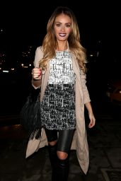 Chloe Sims Night Out Style - Out in London