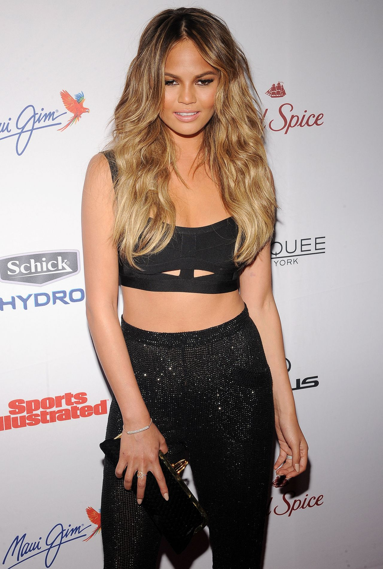 Chrissy Teigen – 2015 Sports Illustrated Swimsuit Issue Celebration in New York City