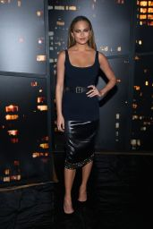 Chrissy Teigen - Donna Karan New York Fashion Show, February 2015