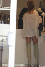 Chrissy Teigen - Shopping in Miami, February 2015