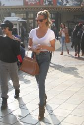 Chrissy Teigen Street Style - Out in West Hollywood, February 2015