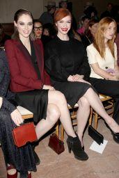 Christina Hendricks - Zac Posen Fashion Show in New York City, February 2015