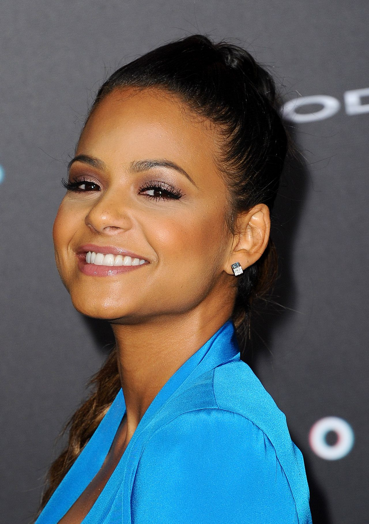 Christina Milian Focus Movie Premiere In Los Angeles