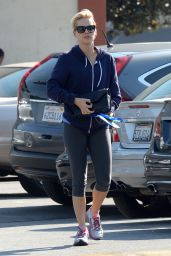 Claire Holt in Leggings - Out in Los Angeles, Feb. 2015