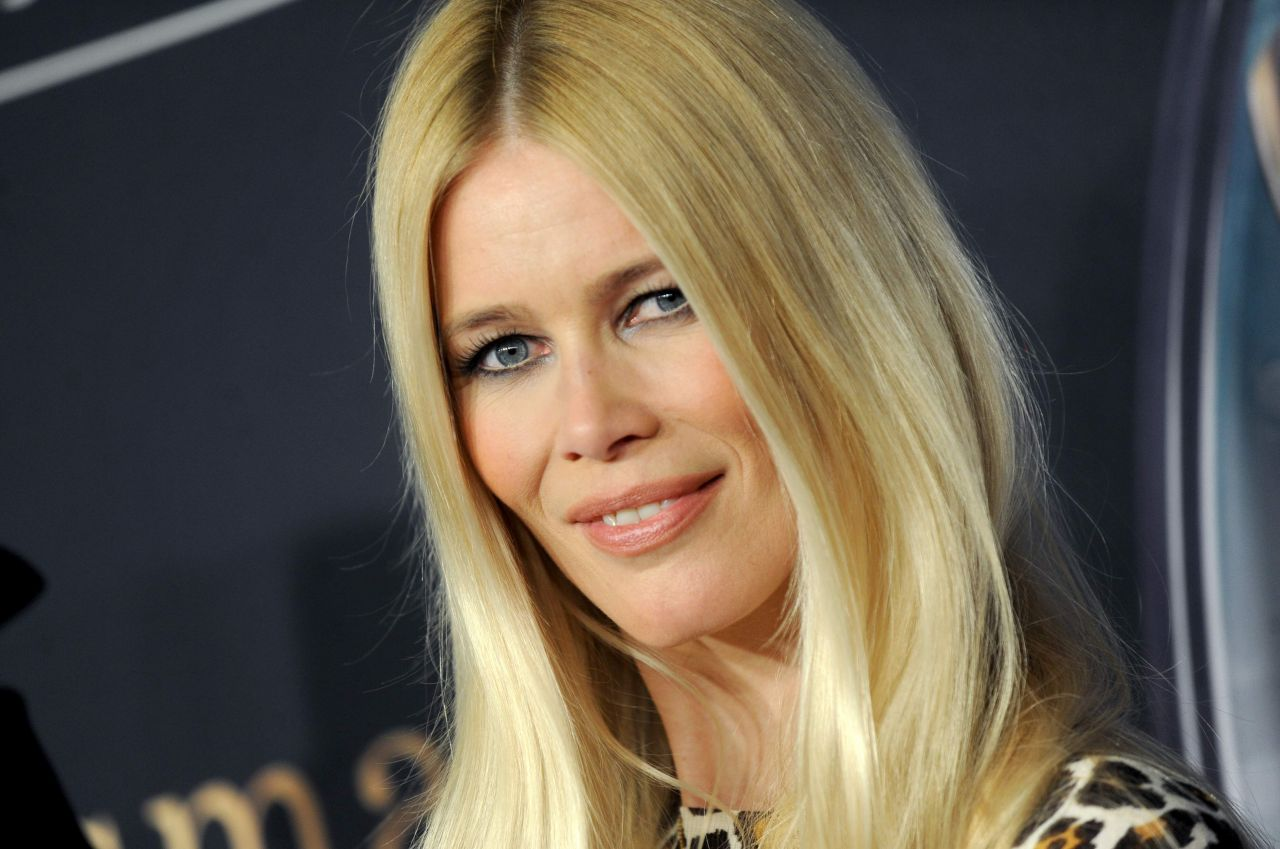 Claudia Schiffer Kingsman The Secret Service Premiere