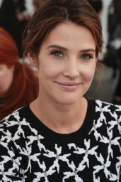 Cobie Smulders - Tanya Taylor Fashion Show in New York City, Feb. 2015