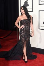 Courtney Reed – 2015 Grammy Awards in Los Angeles