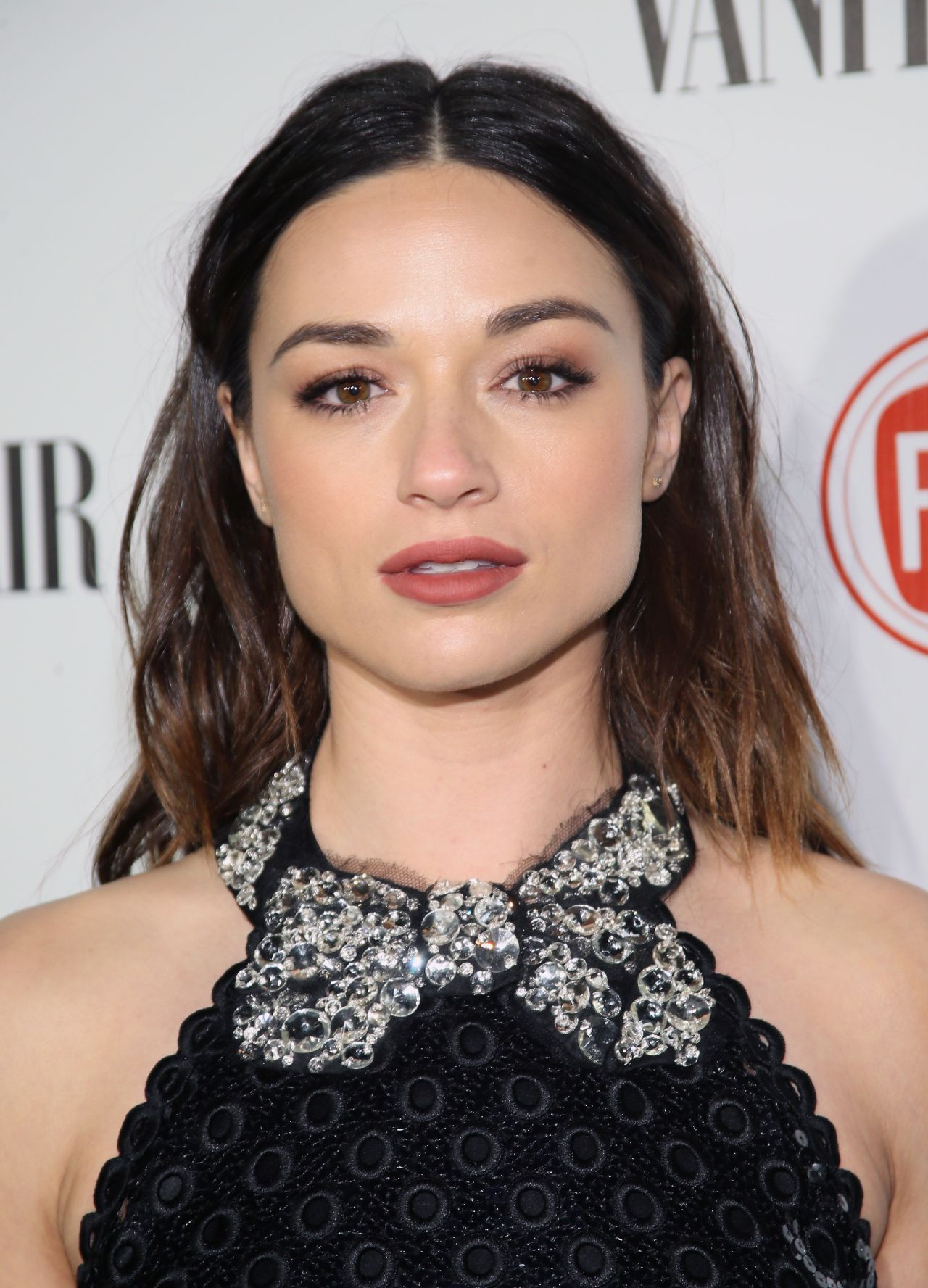Crystal Reed - Vanity Fair and FIAT Celebration of Young Hollywood in Los Angels, Feb. 2015