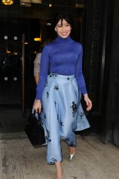 Daisy Lowe at Emilia Wickstead Show - London Fashion Week, February 2015