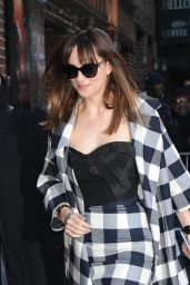 Dakota Johnson - Arriving to appear on