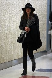 Dakota Johnson at JFK Airport, February 2015
