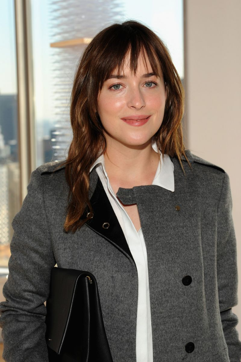Dakota Johnson - Boss Womens Fashion Show in New York City, Feb. 2015
