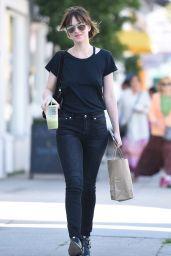 Dakota Johnson Street Style - Out in Los Angeles, Feb 2015