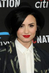 Demi Lovato - Roc Nation Grammy 2015 Brunch in Beverly Hills