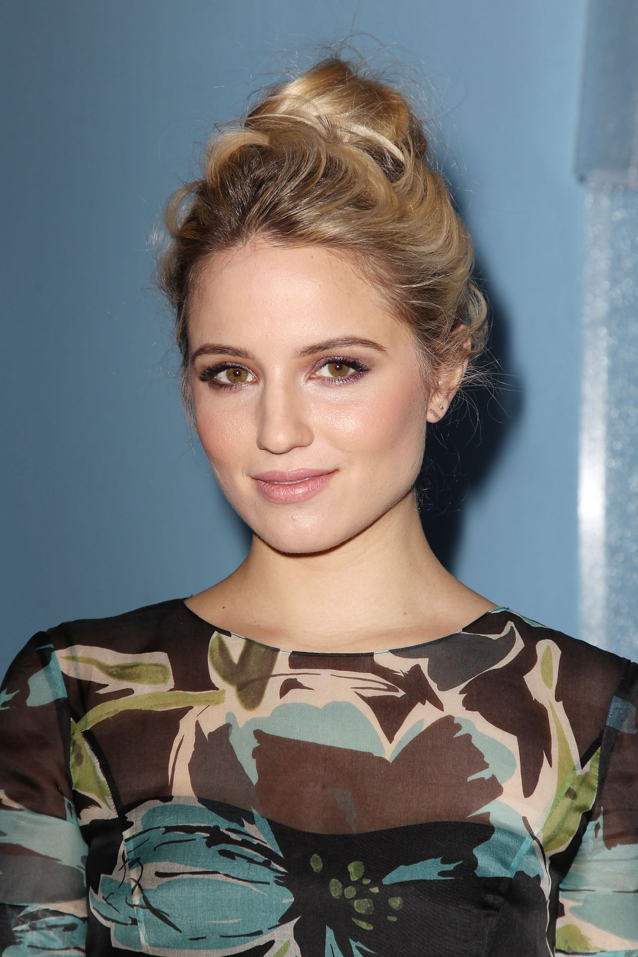 Dianna Agron - Carolina Herrera Fashion Show in New York City, Feb. 2015