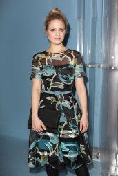 Dianna Agron - Carolina Herrera Fashion Show in New York City, Feb. 2015