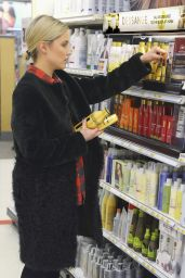 Dianna Agron - Shopping at Target in Los Angeles, February 2015